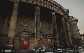Prewed engagement photography at the University of Toronto in Ontario, Canada