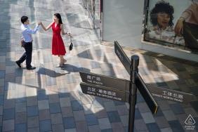 Xiaoye Sun, of, est un photographe de mariage pour