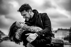 Lyon black and white love session
