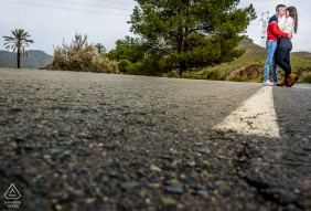 "Águilas - Spain Photographer: ""We did part of the session on this road that we really liked"""