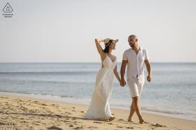 Phu Quoc Island pre-wedding portraits - blue sea, sunlight, you and me