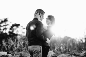 Love & Light Captured in this engagement portrait at Odiorne State Park - Rye, New Hampshire