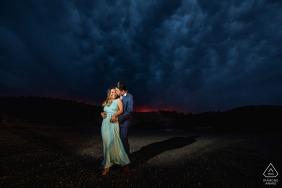 Flagstaff Park, Arizona avant le mariage avec Love and Fall