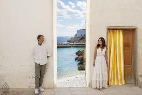 Levanzo - Egadi Island - Italy Sicily Engagement Photo session in Levanzo Small Island