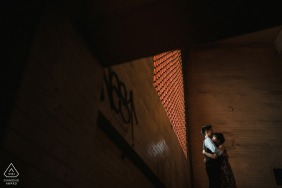 Taiwan Stairs pre wedding photography for a young couple engaged