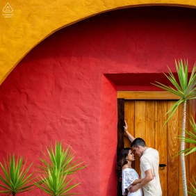 Brazil pre wedding and engagement photography in the very colorful city of Pirenópolis