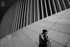 Luxembourg Artful Engagement Picture with a Look forward future