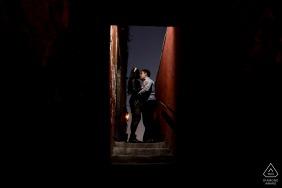 San Miguel de Allende Guanajuato in Canal Street Artful Engagement Picture taken under a bridge with external flash