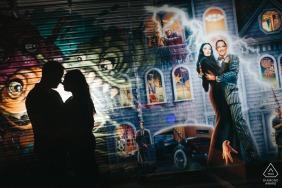Akron, Ohio, e-shoot de portrait sur site à Arcade Store
