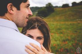 Orvieto on-location portrait e-shoot portrait of a couple