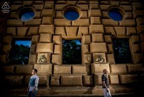 Granada environmental engagement e-session at the Palace of Carlos V
