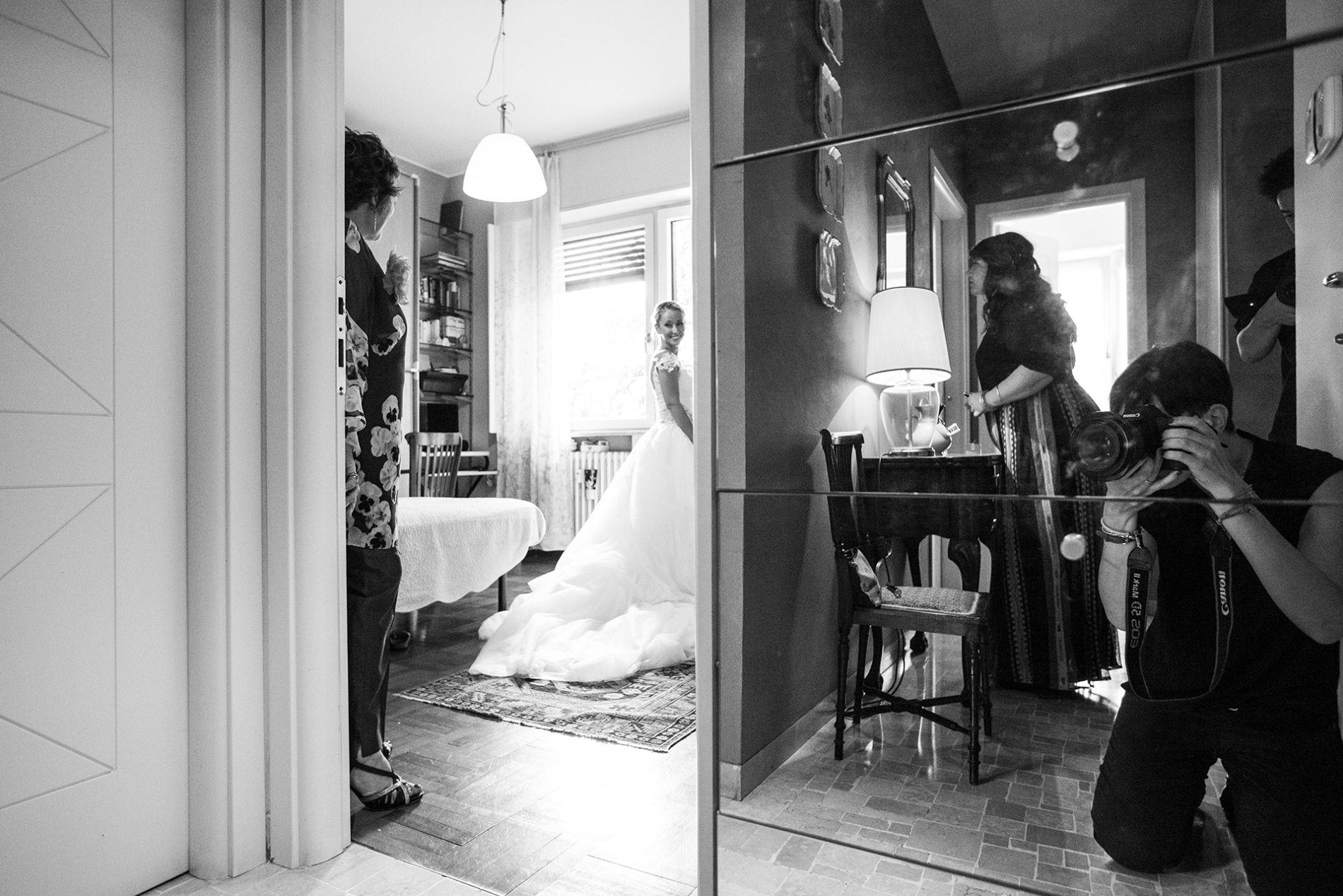 Lombardy and Milan pro wedding photographer - Italy WPJA