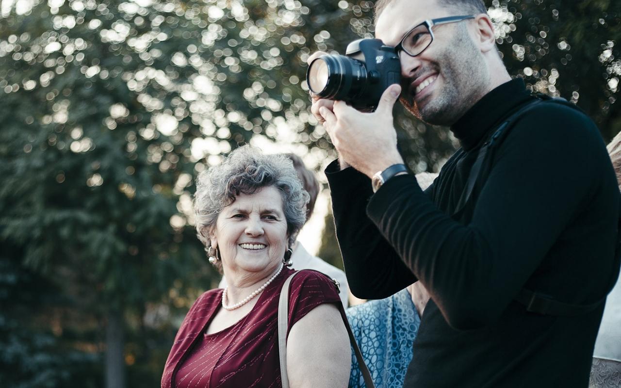 Kamil A. Krajewski  Krakow wedding photographer  Love Side at work