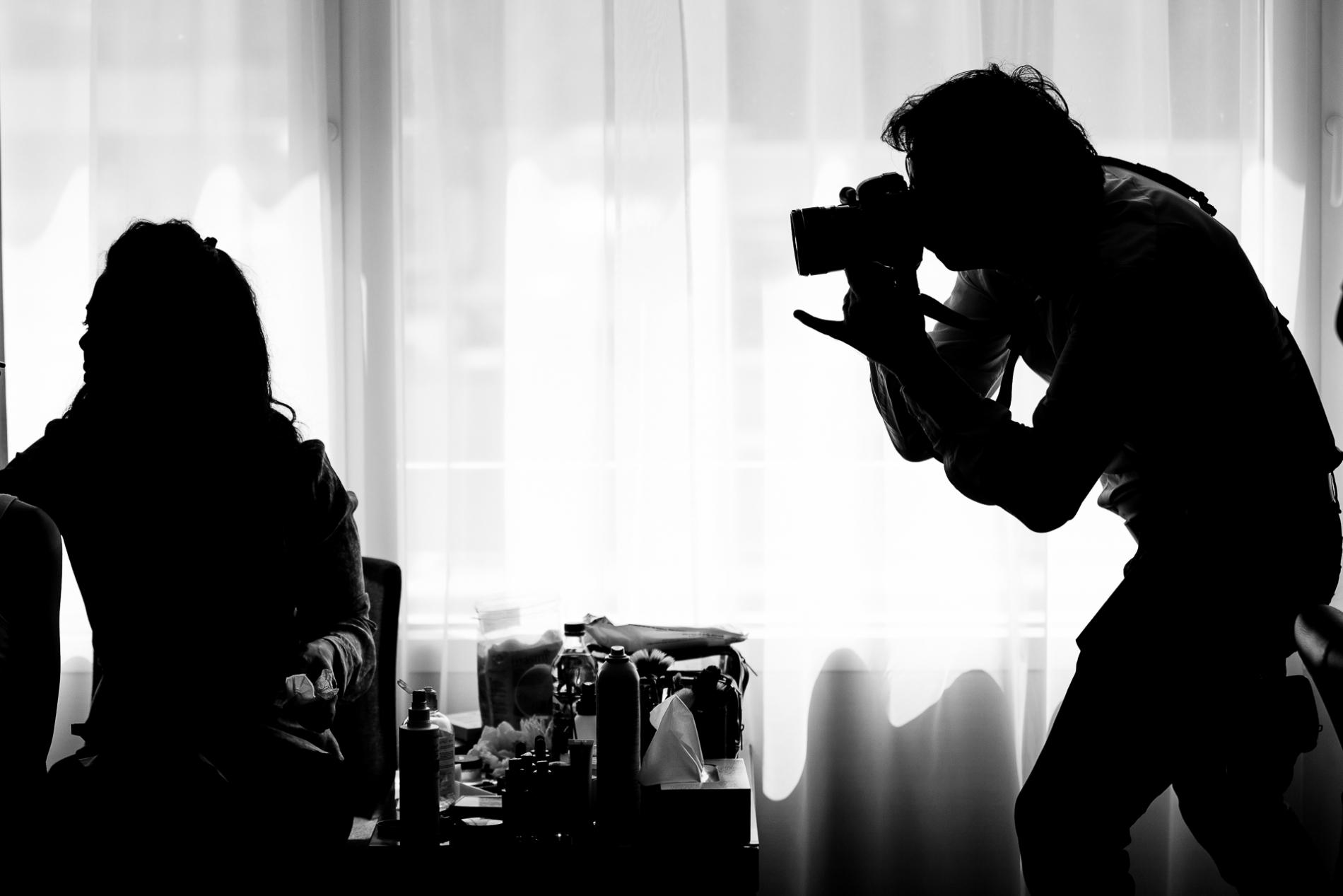 Imágenes de Bucarest de los preparativos nupciales del fotógrafo Mihai Zaharia