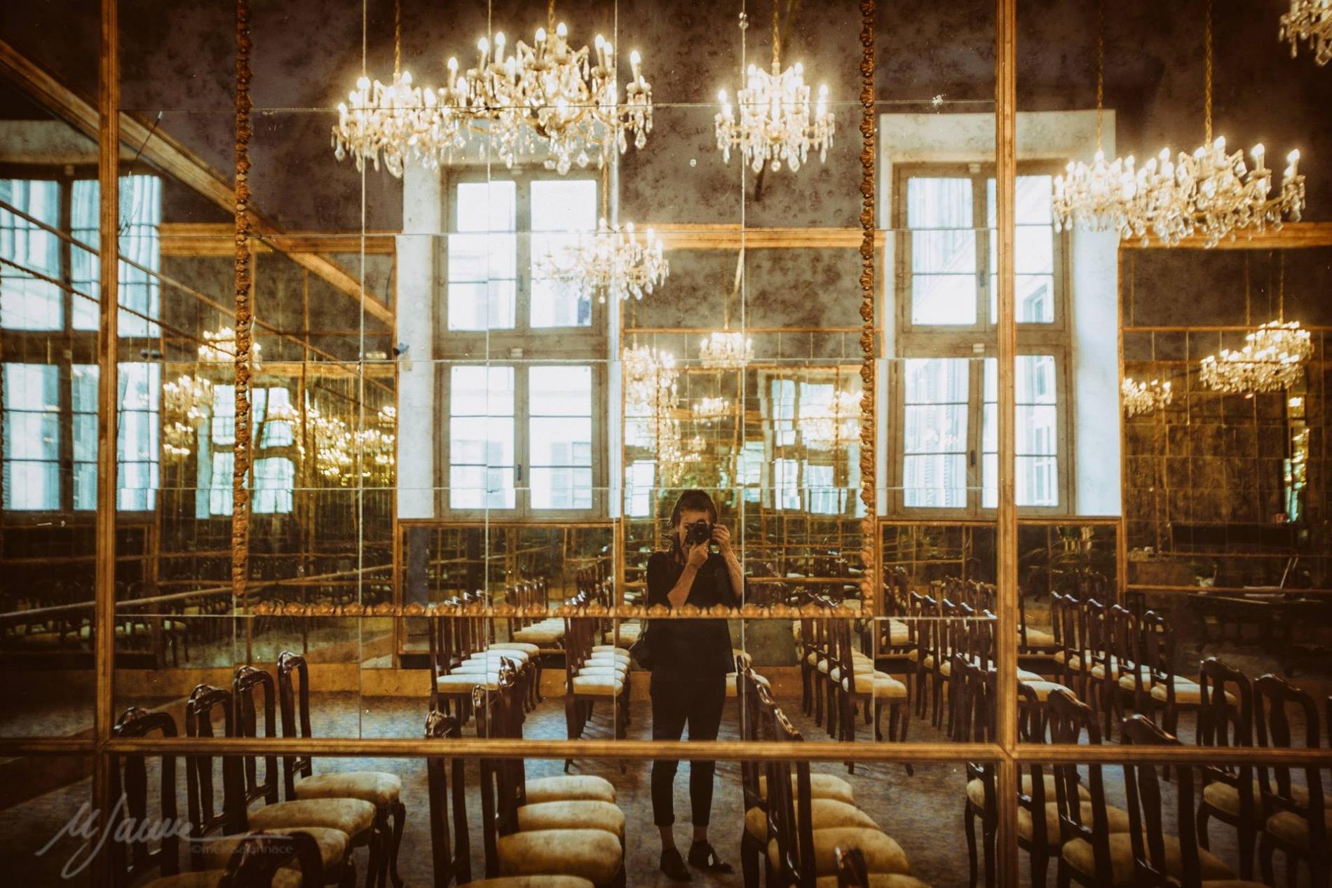 Self Portrait of Melissa Iannace | marriage photography for Modena