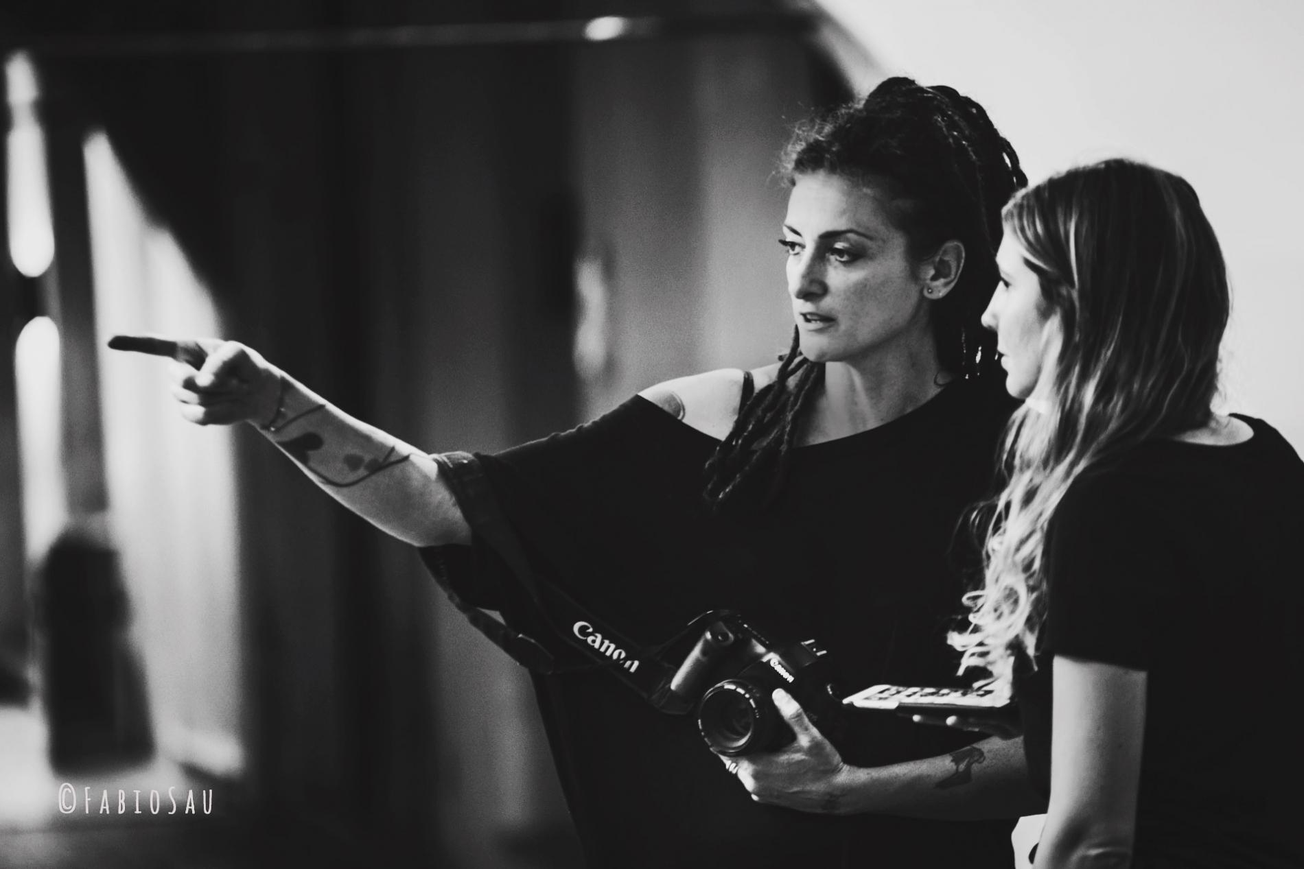 Melissa Iannace Photographe de mariage lors d'un récent tournage