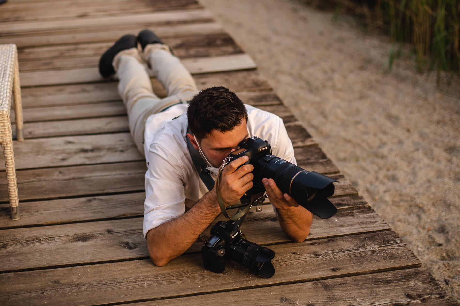 Nicola Genati Trouwfotograaf die foto's maakt in Italië