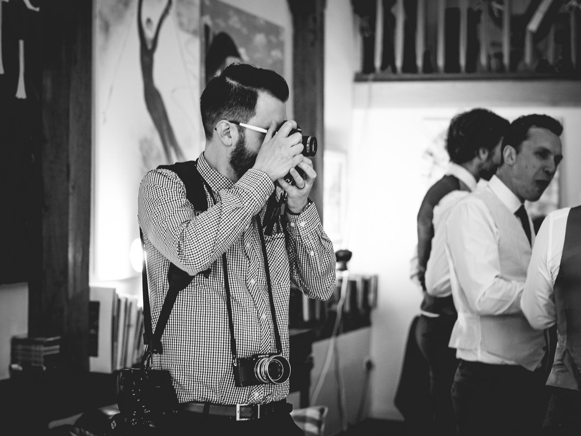 OneTrueLove Trouwfotograaf - Martyn East aan het werk