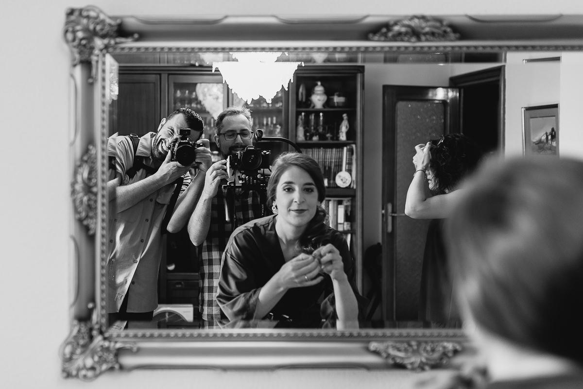 Selbstporträt von Sergio Cueto, einem Hochzeitsfotografen für Madrid, Spanien