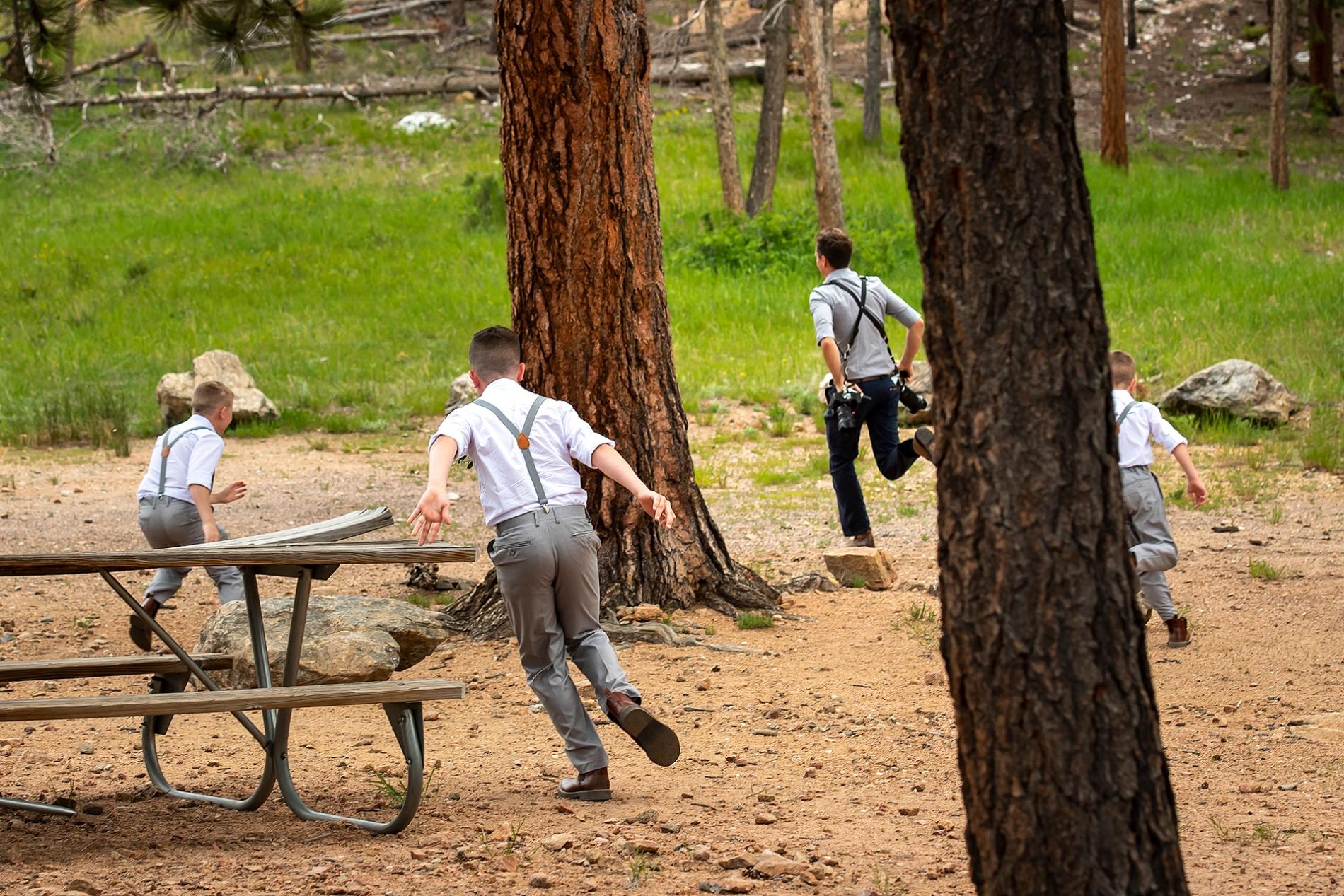 Lily Lake Hochzeit   Estes Park Hochzeitsfotograf   J. La Plante Foto