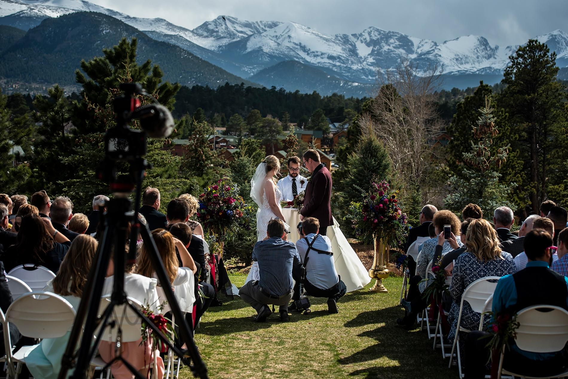 Veranstaltungsort für Hochzeiten im Stanley Hotel   Estes Park Hochzeitsfotograf   J. La Plante Foto