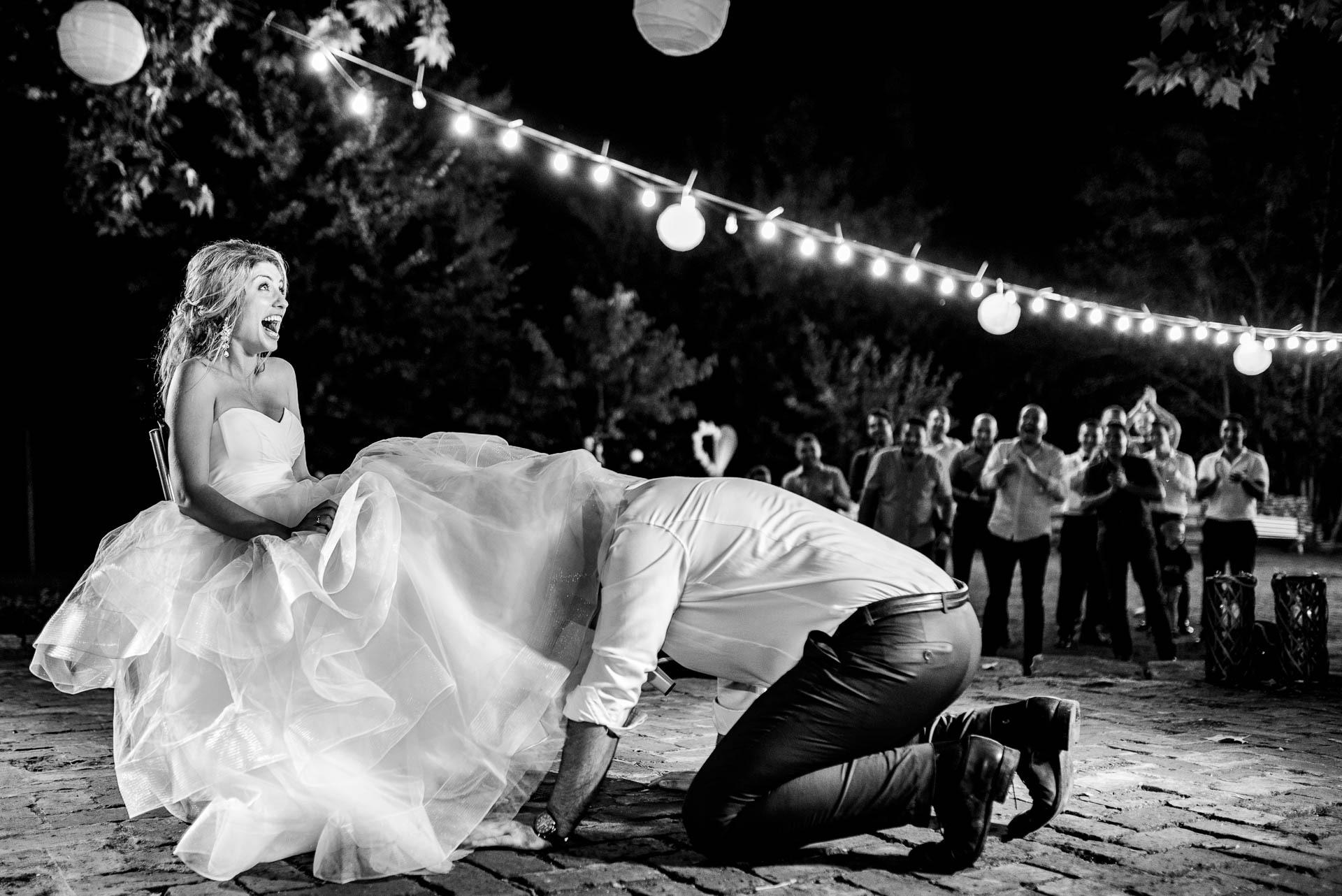 Hristina Handzhieva, of, is een trouwfotograaf voor