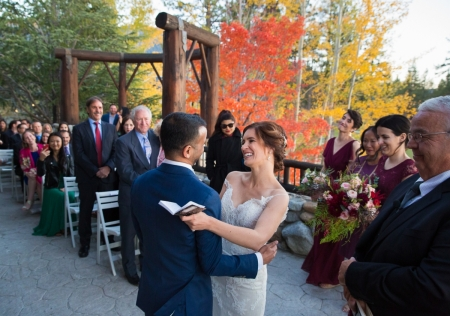 Edgewood at Tahoe wedding ceremony photography