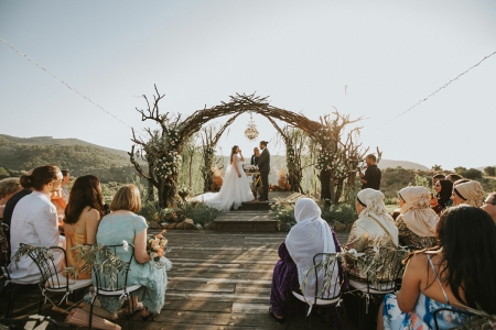 Sanat Bahçem wedding photography from outdoor ceremony