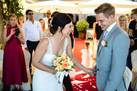 Hotel Ristorante Belvedere, Isola dei Pescatori, Lake Maggiore, Italy Wedding Venue Ceremony Image