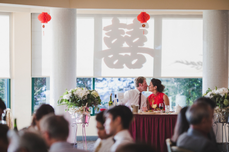 Hong Kong East Ocean wedding in Emeryville, CA. Chinese wedding photojournalism Drew Bird