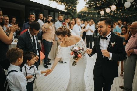 Kuzguncuk Yanık Mektep, Istanbul Huwelijksdocumentaire fotografie
