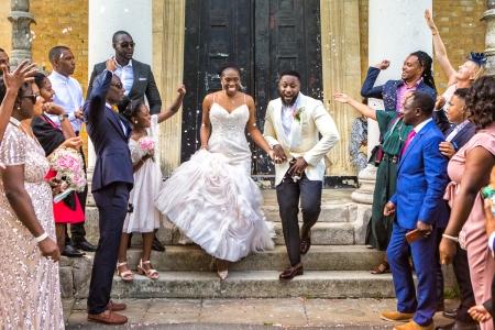 Londyński fotograf ślubny w Azylu