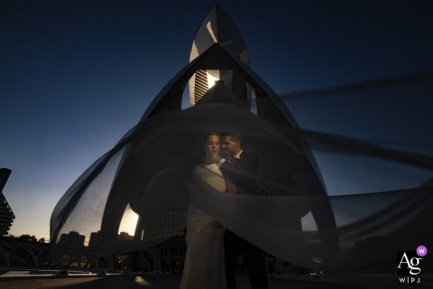 Jorge Miguel Jaime Baez is an artistic wedding photographer for Valencia