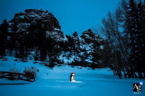 杰西·拉普兰特(Jesse La Plante)是科罗拉多州的艺术婚礼摄影师