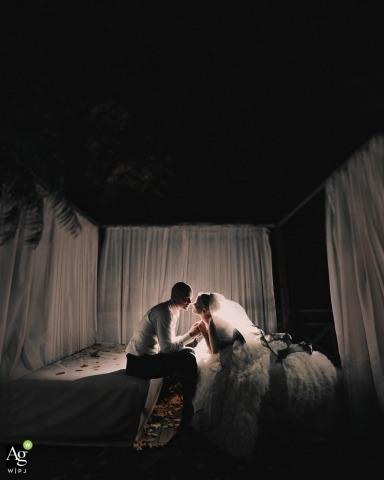 Janne Miettinen is an artistic wedding photographer for