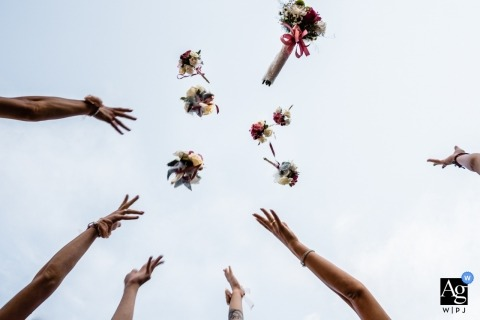 Hristina Handzhieva è una fotografa artistica per matrimoni