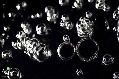 Zhuhai wedding detail shot of rings