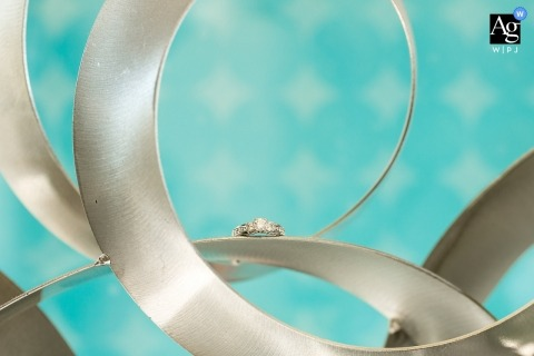 Lake Tahoe artistic creative photography detail of wedding rings