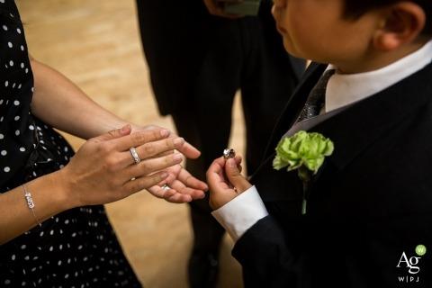 Ring Bearer at MN wedding