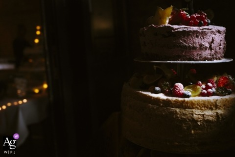 Aachen artistic creative photography detail of cake with fresh fruit