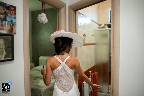 Alessandro Di Noia jest artystycznym fotografem ślubnym dla Brescii
