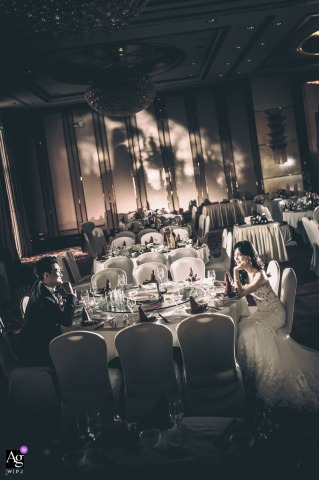 Andy Ren is an artistic wedding photographer for