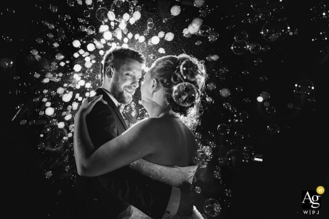 Aleks Kus is an artistic wedding photographer for