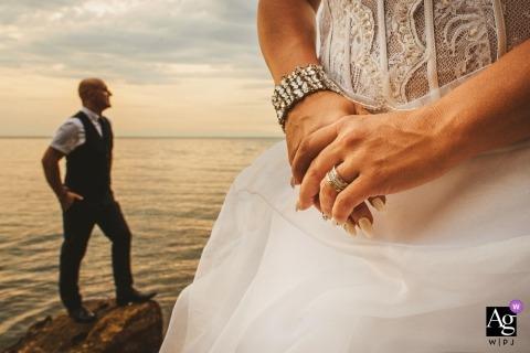 Aleks Kus ist ein künstlerischer Hochzeitsfotograf für