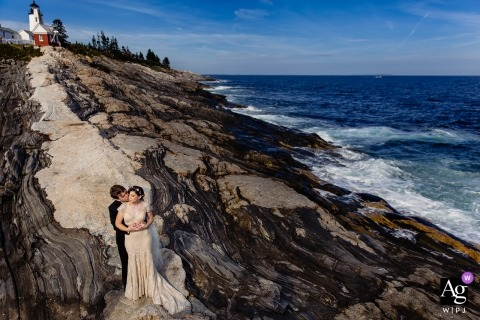 Kate Crabtree is an artistic wedding photographer for Maine
