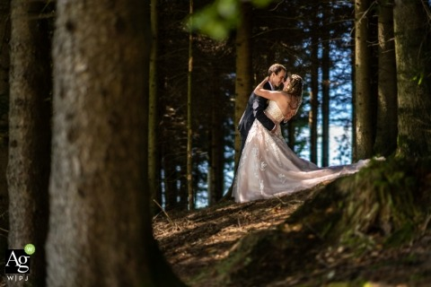 David Anton is an artistic wedding photographer for