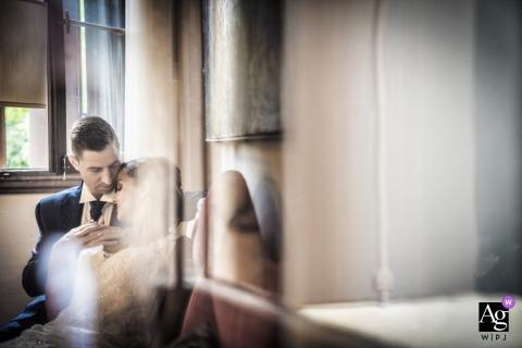 Veneto boda fotografía retrato de una pareja