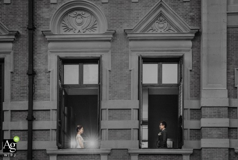 Nan Zhao is an artistic wedding photographer for