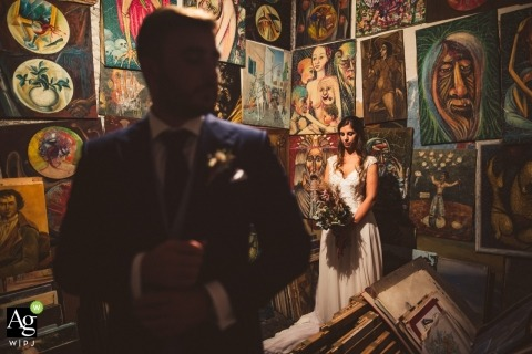 Dejan Zagar is an artistic wedding photographer for