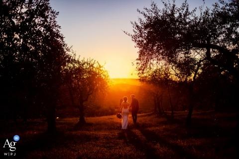 Damiano Salvadori is een artistieke huwelijksfotograaf voor Firenze